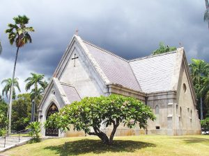 Chapel - Royal Mausoleum, Honolulu, Hawaii, USA.