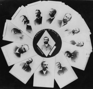 The Committee of Safety, formally the Citizen's Committee of Public Safety, was a 13-member group of the Hawaiian League also known as the Annexation Club. Henry E. Cooper, Chairman, Theodore F. Lansing, Henry Waterhouse, Lorrin A. Thurston, Ed Suhr, F.W. McChesney, John Emmeluth, Wm. R. Castle, Wm. O. Smith, J.A. McCandless, C. Bolte, W.C. Wilder, and Andrew Brown.