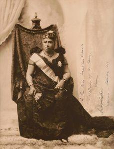 Liliuokalani, the last sovereign of the Hawaiian kingdom